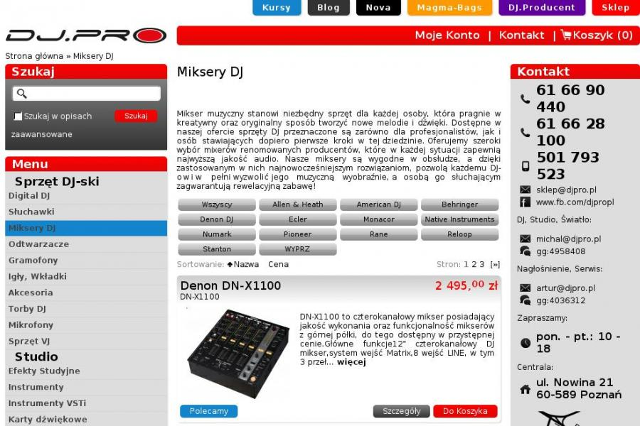 Miksery audio